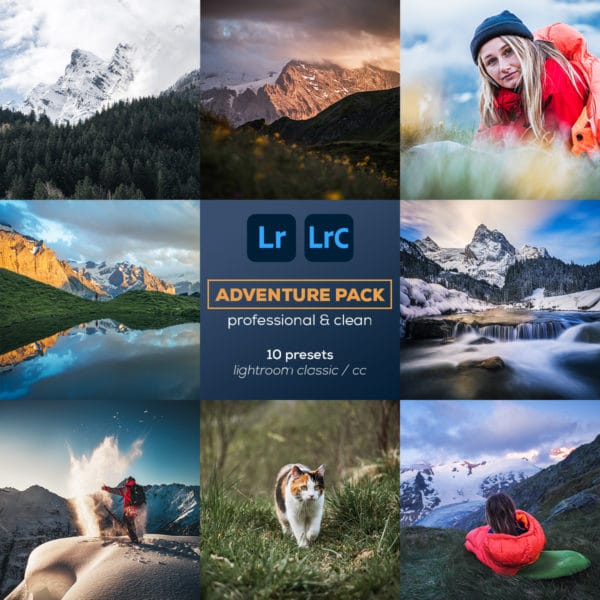 Adventure Pack - Lightroom Presets - Plpictures by Paedii Luchs - cover