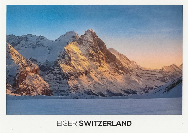 The Eiger Mountain in the Bernese Alps