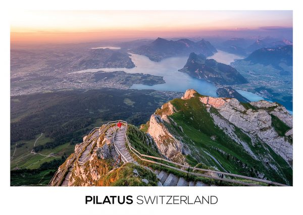 The view from Pilatus mountain.